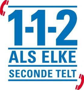bel 112 als elke seconde telt
