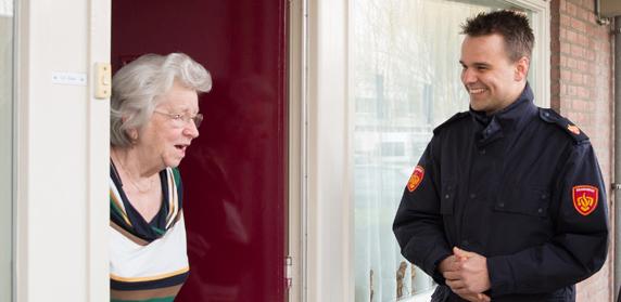 Woningcheck Brandveiligheid bij senioren.