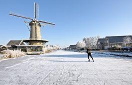 Veilig schaatsen op natuurijs