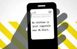 Vandaag 12:00 controlebericht NL-Alert